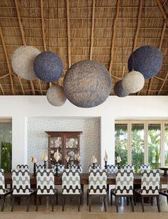 Beach Style Living Room in Punta Mita, MX by Martyn Lawrence Bullard Design
