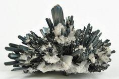 Stibnite mixed with Barium