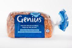 ¡Nuevo pan de molde blanco y #FrescoSinGluten de Genius! ¡Más delicioso que nunca!