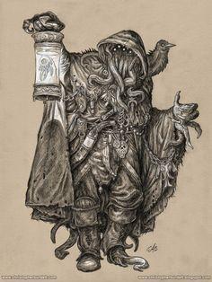 Gray Wanderer by Christopher Burdett