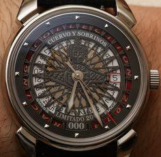Cuervo Y Sobrinos Historiador Racing Watch