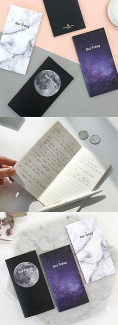 A beautiful pocket-sized notebook where you can write your dreams, goals, or grocery lists wherever you are. ^.~*