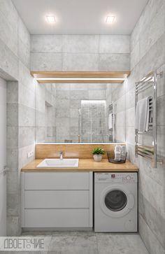 Kitchen Room Design, Laundry Room Design, Home Room Design, Home Decor Kitchen, Interior Design Kitchen, Small Bathroom Layout, Modern Small Bathrooms, Bathroom Plans, Bathroom Ideas