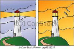 Imagini pentru illustrations of lighthouses