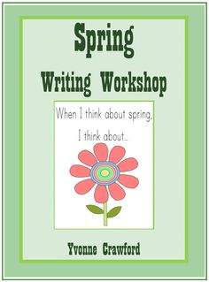 Spring Writing Centers is a fun way to introduce spring vocabulary to your students while helping them increase their language skills. This booklet can be used at writing centers or workstations in a classroom.