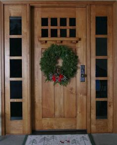 craftsman style front door with more windows needs darker wood