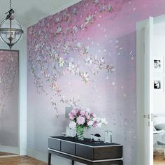 Oil Painting Flowers, Oil Painting Abstract, Room Decor Bedroom, Living Room Decor, Wallpaper Wall, Open Wall, Cleaning Walls, Wall Murals, Wall Stickers