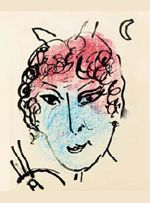 Self portrait of Chagall