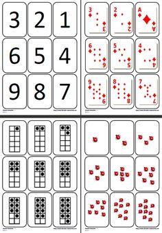 Un jeu pour se familiariser avec 9 représentations différentes des chiffres de 1 à 9.