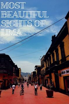 Travel guide to Peru's capital, Lima. The best sights to see and things to do in Lima.
