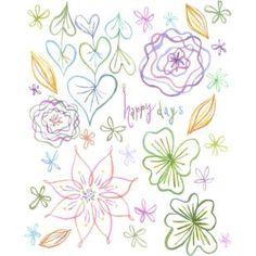 Etiqueta 00016,Piezas,Scrapbook,Asia / Oceanía,Japón,Azul celeste,Corazón,Piezas para maqueta,Flor
