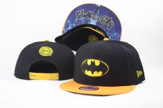 Batman Cartoon Snapback Hats