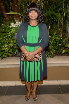 Actress Octavia Spencer attends the 14th annual AFI Awards Luncheon at the Four Seasons Hotel Beverly Hills on January 10, 2014 in Beverly H...