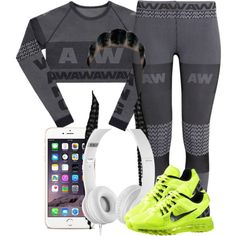 A fashion look from November 2014 featuring H&M activewear pants. Browse and shop related looks.
