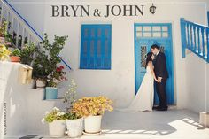 BRYN AND JOHN WEDDING IN MYKONOS One of the best weddings I have been to! Congrats to both:) Photo by: Anna Roussos
