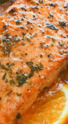 Citrus and Thyme Glazed Salmon