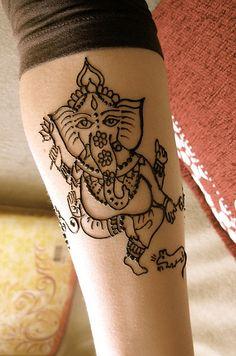 ganesha henna | Flickr - Photo Sharing!