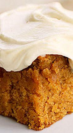 Pumpkin Bars Cake