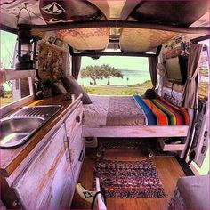 Camper van conversions awesome ideas 47