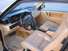 Volvo 780 interieur