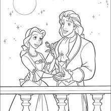 Prince Charming - Coloring page - DISNEY coloring pages - Beauty and the Beast coloring pages