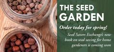 One of my favorite seed sources.  Please support this awesome cause.  Our futures depend on it.