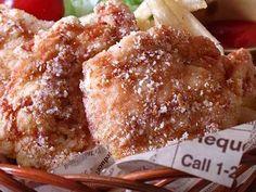 コンソメチーズ味☆鶏胸肉の唐揚げ♪の画像