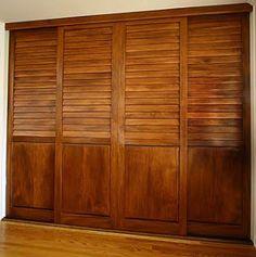 puertas para closet de madera - Buscar con Google
