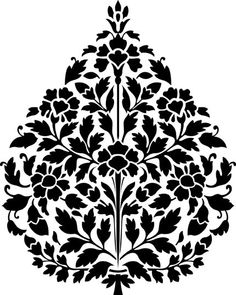 Paper Embroidery Patterns Persian Designs - Visit the post for more. Motifs Islamiques, Embroidery Motifs, Paper Embroidery, Embroidery Designs, Persian Pattern, Persian Motifs, Islamic Art Pattern, Pattern Art, Islamic Motifs