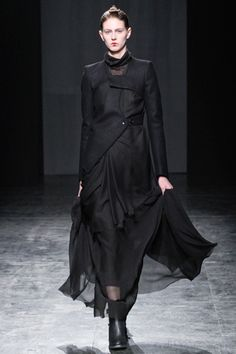 Nicolas Andreas Taralis, sheer + black
