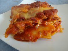 Lasagne...gustosamente particolari!!!   Ricetta primi piatti