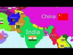 Landen - Wereld - Liedjes -Learn the countries of Asia - with a song! Short video shows geographical location and the country's flag - Hulp ouder gewenst Music For Kids, Kids Songs, The World Song, Countries Of Asia, Continents And Oceans, World Geography, School Videos, Teaching Social Studies, Music Activities