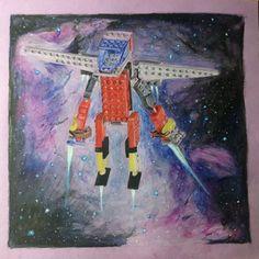 """María José Huerta on Instagram: """"Dibujo lápices acuarerables sobre papél. Mi sobrino hizo un robot lego así que decidí dibujarlo y éste es el…"""" Robot Lego, Spaceship, Sci Fi, Instagram, Art, Make A Robot, Vegetable Garden, Paper Envelopes, Drawings"""