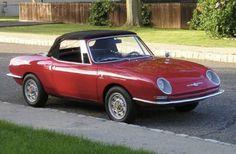 1967 Fiat Abarth 1000 OT Spider Front