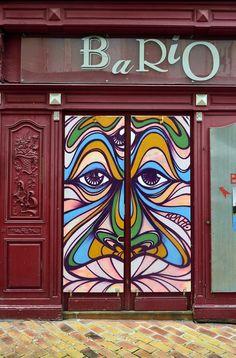 Doors in Mont-de-Marsan, Landes, France   ᘡղbᘠ