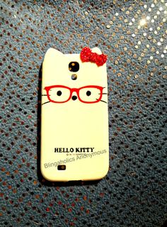 Hello Kitty Samsung Galaxy S4 Bling Phone Case by BlingaholicAnonymous $39.50