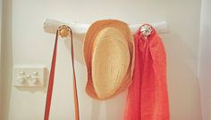 diy hat rack ideas instead of throwing your hats in the corner of the coat closet or losing them to a top shelf in any or every room of the house, build . Baseball Hat Racks, Cowboy Hat Rack, Diy Hat Rack, Coat And Hat Rack, Hat Display, Wood Rack, Pinterest Diy, Wooden Diy, Diy Wall