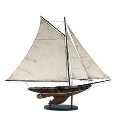 Buy Authentic Models Newport Sloop Online at Occa-Home