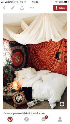 Reminds me of my mosquito net in Senegal