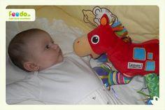 Malá Vladuška s koníkom Ferdom :)