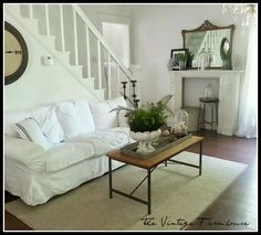 The Vintage Farmhouse: Living Room Changes