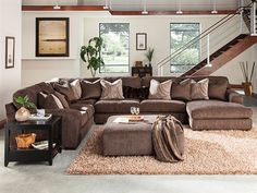 Perfect for every one to stretch out on for movie nights or games #TheFurnitureMart