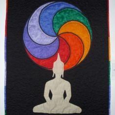 "Folksy :: Buy ""Chakra Buddha Wallhanging"" | Craftjuice Handmade ..."