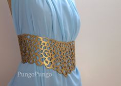 Qarth Belt & Shoulder Pieces for Dress  Daenerys by pungopungo, $99.00 game of thrones khaleesi daenerys targaryen costume cosplay accessories qartheen gold filigree