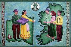 """In 1847, the Choctaw nation raised $170 for Irish Famine relief, an incredible sum at the time worth in the tens of thousands of dollars today.  They had an incredible history of deprivation themselves, forced off their lands in 1831 and made embark on a 500 mile trek to Oklahoma called """"The Trail of Tears."""""""