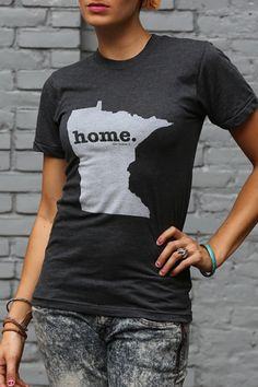 The Home. T - Minnesota Home T, $28.00 (http://www.thehomet.com/minnesota-home-t-shirt/) Benefits Multiple Sclerosis research