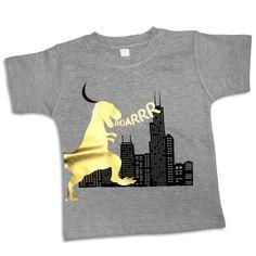 Psychobaby Dino City Tee