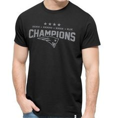 The Official Patriots ProShop Mobile   '47 Brand 4 Time Champs Tee-Black