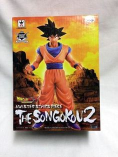 6f1307762c1 NIB Dragon Ball Z Master Stars Piece the Son Gokou 2 Banpresto Japan Import  F/