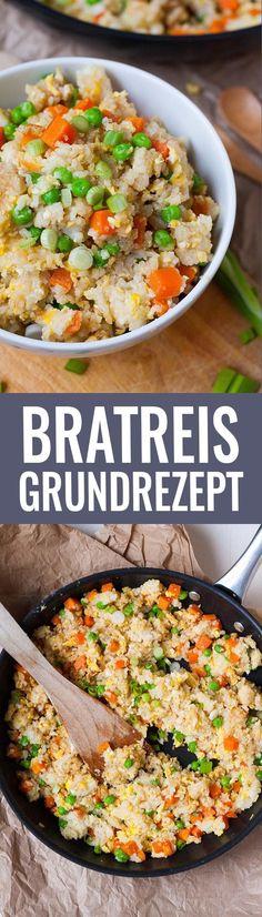 Bratreis Grundrezept. Schnell, einfach und verdammt gut - http://Kochkarussell.com
